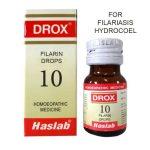 Haslab Drox-10 Filarin Drops for Filariasis, Hydrocoel