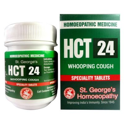 St.George HCT No 24-Whooping Cough