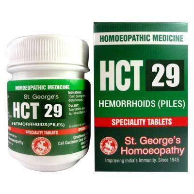 St. George HCT No 29-Hemorrhoids (Piles)