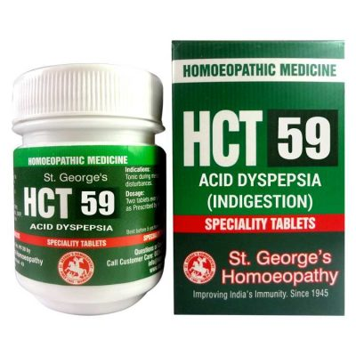 St.George HCT No 59-Acid Dyspepsia for Indigestion