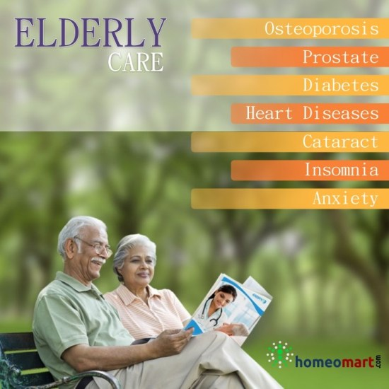 Homeopathy for old age, remedies for senios