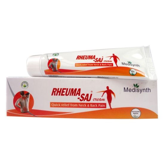 Medisynth Rheuma Saj Cream - Quick relief from Neck and back pain