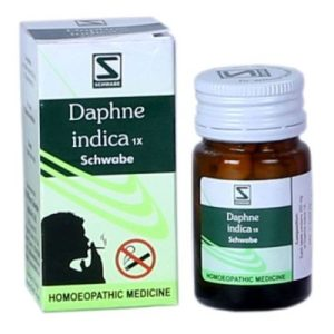 German anti smoking medicine, Schwabe Daphne Indica 1X for tobacco deaddiction, stop cigarette