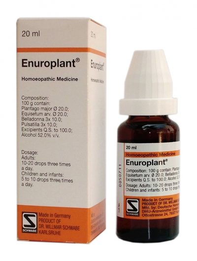 Schwabe Enuroplant Drops homeopathic medicine for bladder infection, cystitis, urinary incontinence