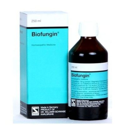 Biofungin Schwabe German Tonic for Anemia and Exhaustion, homeopathic medicine