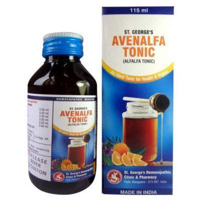 St. George's Avenalfa Tonic-homeopathy alfalfa tonic
