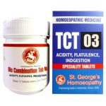 St George Tissue Complex Tablets 3 for Acidity, Flatulence, Indigestion