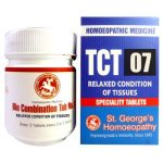 St George Tissue Complex Tablets 7-Relaxed Condition of Tissues