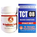 St George Tissue Complex Tablets 8- Bilious Conditions