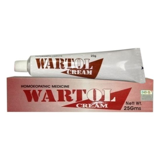 BBP Wartol cream-homeopathy medicine for warts and corns with Thuja Occidentalis