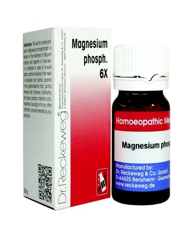 Dr.Reckeweg-Germany Biochemic Tablets - Magnesium Phosphoricum 6x , for cramps and spasms of muscles,