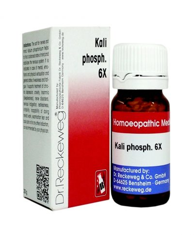 Dr.Reckeweg-Germany Biochemic Tablet Kalium Phosphoricum.6x, salt for nerves and mind, depression, Anxiety, insomnia