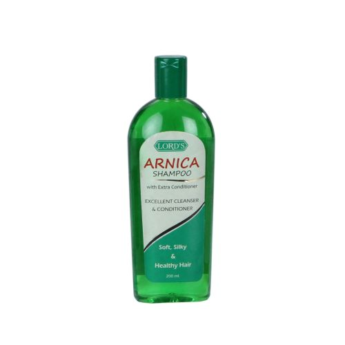 Lords Arnica Shampoo with extra conditioner for soft silky Hair, Contains Arnica, China
