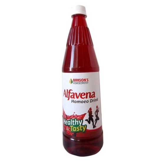 Baksons Alfavena Homoeo Drink, health drink for vigor and vitality