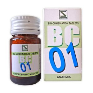Schwabe Bioplasgen/Biocombination No. 1 Tablets for Anaemia, lowering of hemoglobin in blood