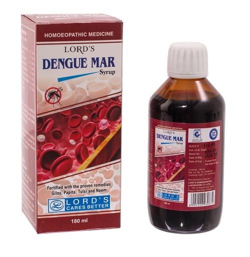 Lord's Dengue Mar Syrup - Dengue homeopathy medicine