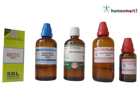 Eupatorium Perfoliatum Homeopathy Medicine from Schwabe, Reckewg, SBL, St.George, Buy medicine Online for Dengue, Chikungunya treatment