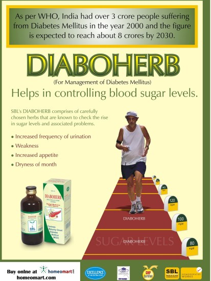 SBL Diaboherb Homeopathy medicine for Diabetes, helps in controlling blood sugar levels, manages diabetes mellitus naturally without side effects