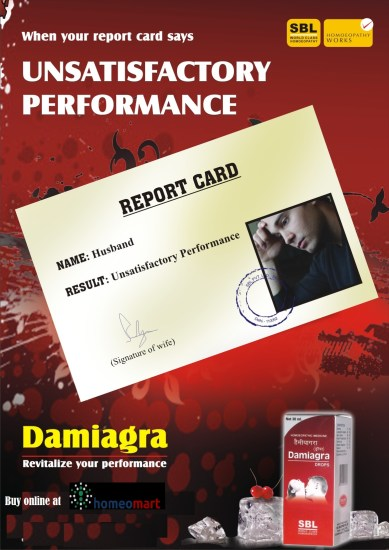 SBL Damiagra drops for impotence, sexual weakness. Homeopathy sex medicine, revitalizer. Relieves physical & mental weariness, firm erection and longer time