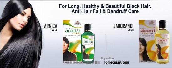Arnica Hair Oil images, Arnica Gold, Jaborandi Gold from Allen