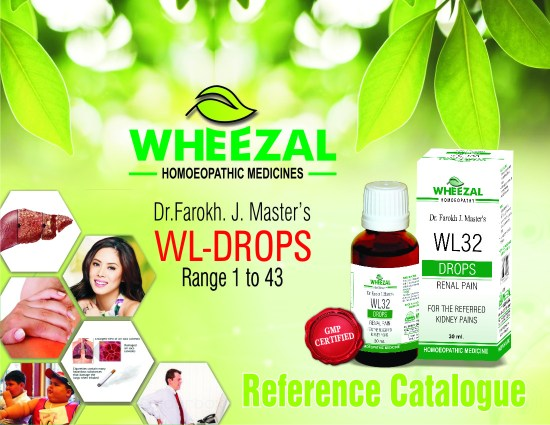 Dr.Farokh J Masters WL Drops 1 to 43, Homeopathy medicines