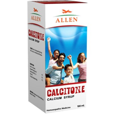 Homeopathy Calcitone Calicum Syrup for strong bones and teeth