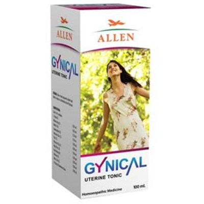 Allen Gynical Syrup for Gynaecological Problems, Homeopathy medicine
