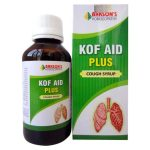 Bakson Kof Aid Plus Syrup, Homeopathy cough medicine for Paroxysmal cough, Hoarseness, Wheezing, Dry, hacking cough during night