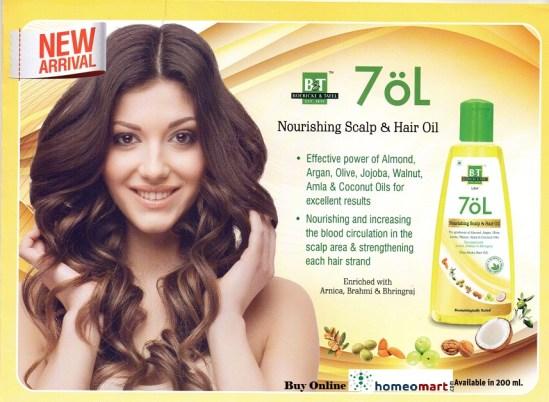 Top Scalp hourishing hair oil