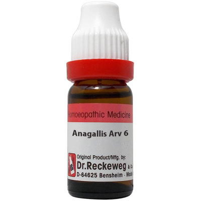 Dr Reckeweg Anagallis Arvensis 6C, 30C, 200C, 1M. 11ml