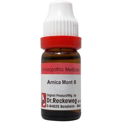 Dr Reckeweg Arnica Montana 3X, 6C, 30C, 200C, 1M, 10M, 50M, CM. 11ml