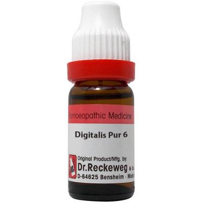 Dr Reckeweg Digitalis Purpurea 3X, 6C, 30C, 200C, 1M, 10M, CM. 11ml