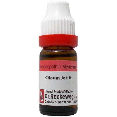 Dr Reckeweg Dilution Oleum Jecori 6C, 30C, 200C, 1M, 10M. 11ml