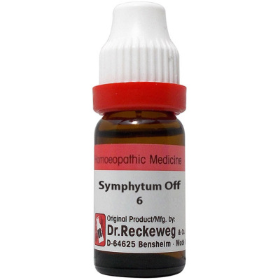 Dr Reckeweg Dilution Symphytum Officinale 6C, 30C, 200C, 1M, 10M, 50M, CM. 11ml