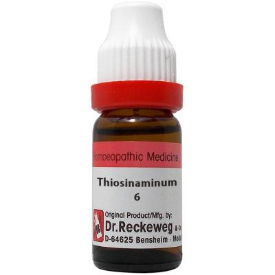 Dr Reckeweg Dilution Thiosinaminum 6C, 30C, 200C, 1M. 11ml