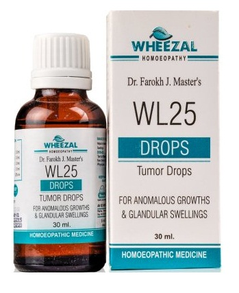 Wheezal WL-25 Tumor Drops, Homeopathy Medicine