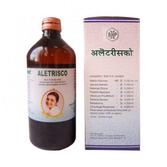 B H P Aletrisco Syrup - Best Uterine Tonic