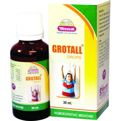 Wheezal Grotall Drops - Growth Promoter Medicine