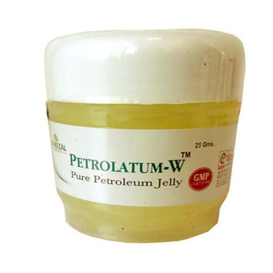 Wheezal Petrolatum W Petroleum Jelly for complete heel care, rehydrates cracks in heels