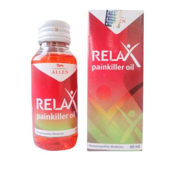 Allen Relax Homeopathic Pain Killer Oil, 30 ml