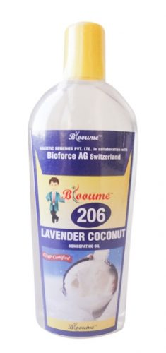 Blooume 206 Lavender Coconut Homeopathic Hair Oil, 200ml