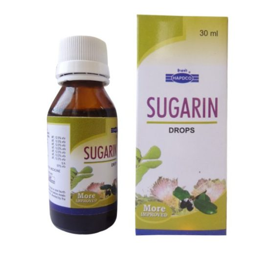 Hapdco Sugarin Drops for Control of Diabetes, 30ml
