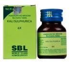 SBL Biochemics Tablets Kali Sulphuricum for Dandruff / Itchy skin