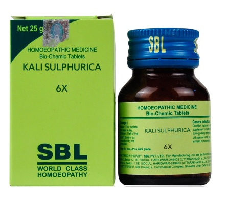 SBL Biochemics Tablets Kali Sulphuricum for Dandruff / Itchy skin