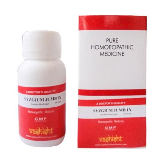 Vashisht Syzgium Jamb (Syzygium Jambolanum) 1x Mother Tincture Tablets