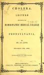 Cholera Free Book Download