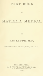 Text Book Of Materia Medica Free Book Download