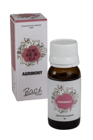 Bach Flower remedy Agrimony for anxiety, insomnia, addiction, unhappiness