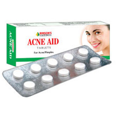 Bakson Acne Aid Tablet for Acne, Pimples