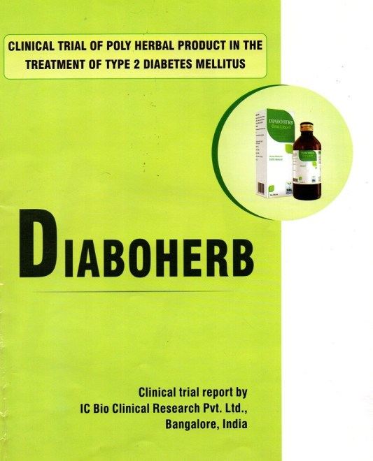 Diaboherb- Clinical report